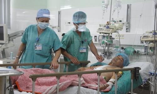 Người đàn ông Huế hồi sinh nhờ trái tim hiến tặng từ Hà Nội