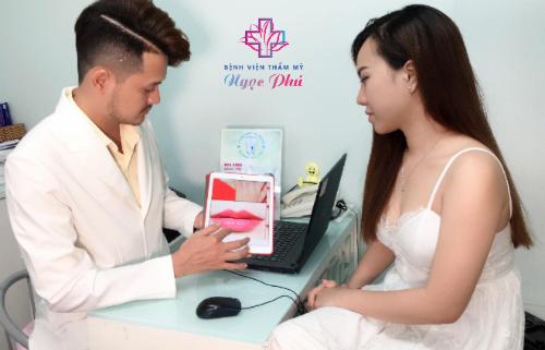 Bệnh viện Thẩm mỹ Ngọc Phú ra mắt công nghệ phun môi Barbie Lips