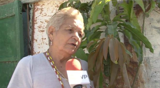 Bà Maria tuyên bố mang thai ở tuổi 70. Ảnh: Cen.