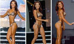 Cô gái nhờ gym và yoga trở thành người đẹp thể hình