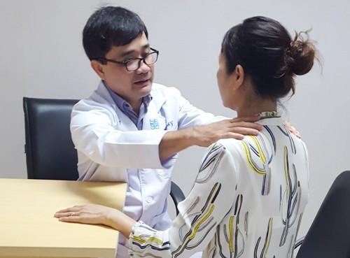 Thiếu iốt nặng có thể dẫn đến bệnh bướu cổ. Ảnh: T.T.