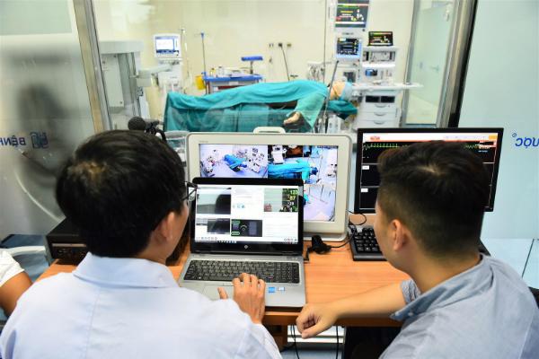 Dự kiến phòng huấn luyện mỗi năm đào tạo ít nhất 400 sinh viên, y bác sĩ. Ảnh: T.H