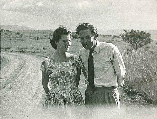 Vợ chồng Robin và Diana. Ảnh:malindikenya.net.
