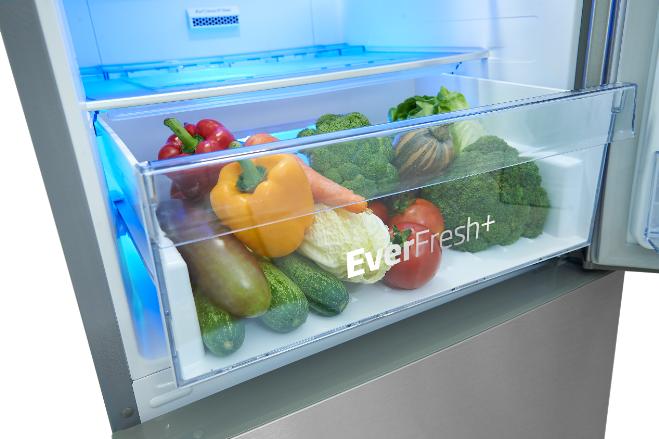 Dự trữ rau củ quả trong ngăn chuyên dụng có khả năng duy trì độ ẩm và chất dinh dưỡng tốt. Đây là cách bảo vệ chúng hiệu quả trong thời tiết nóng.