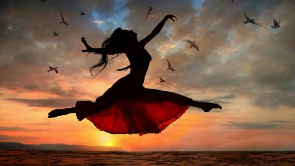 Thiền kết hợp với nhảy múa có thể giảm stress, cân bằng cuộc sống và trị liệu trầm cảm. Ảnh: Wallpapers 13