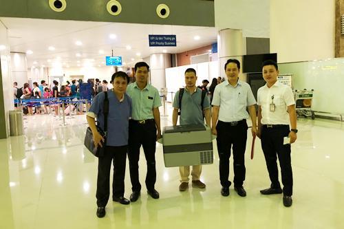Vận chuyển quả tim bằng ôtô từ Đà Nẵng ra Huế ghép cho bệnh nhân