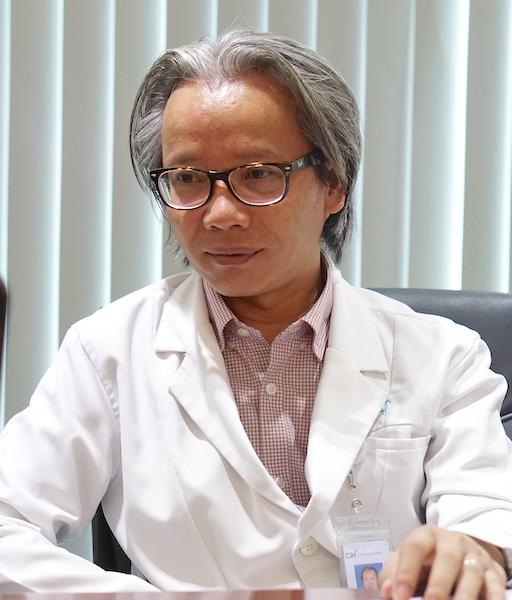 Bác sĩ Lê Minh Quang.