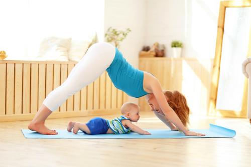 Tập thể dục cũng là cách để tăng cường hệ miễn dịch cho trẻ. Ảnh:
