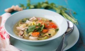 Tự nấu món súp ăn tăng sức đề kháng