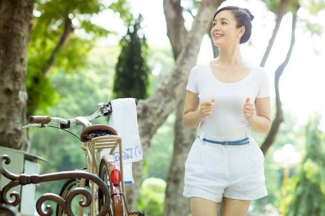 Hà Nội 45 độ, NSƯT Chiều Xuân làm gì để luôn vui vẻ, dẻo dai? (bài xin Edit) - 1