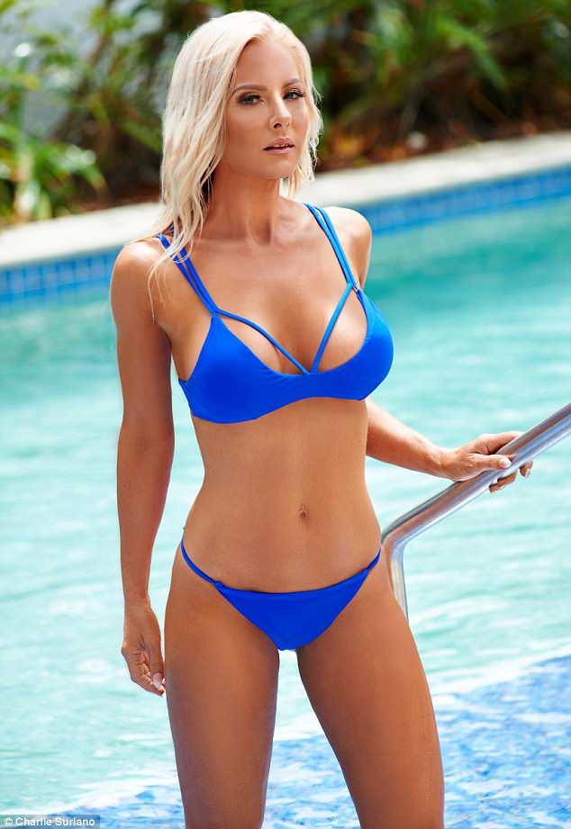 Justine trở thành người mẫu sau khi giảm cân ở tuổi 40. Ảnh: C.S