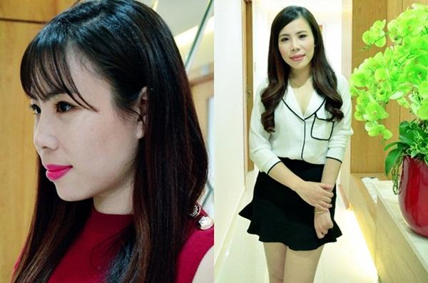 Hoa Hồng hài lòng với chiếc mũi hiện tại, đó là động lực giúp cô thực hiện mơ ước của mình.