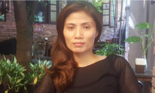 Chị Hương cho biếtrất sốc khi nhận kết quả giám định ADN, đến nay vẫn chưa chấp nhận sự thật bé không phải con ruột mình. Ảnh: C.P.