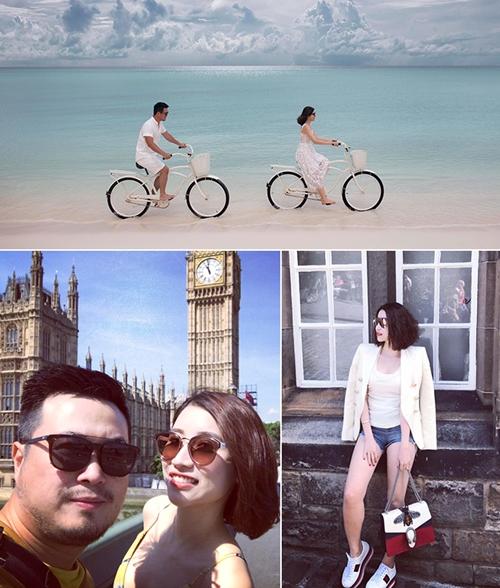 Chẳng thế mà dù đã 42 tuổi chị Kylie Vũ vẫn được chồng hết mực cưng chiều. Du lịch hay công tác đi đâu anh cũng dẫn vợ theo. Những hình ảnh tình cảm của hai vợ chồng trên facebook nhận được hàng trăm lượt yêu thích cũng như ngưỡng mộ từ bạn bè