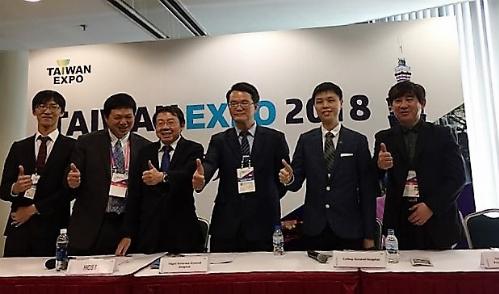 Đại diện các bệnh viện hàng đầu Đài Loan tại Taiwan Expo 2018.