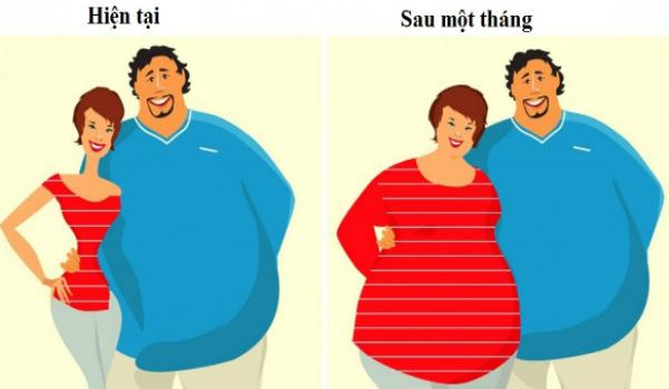 Những người bị béo phì có khả năng lôi kéo một số người bạn cùng tăng cân với họ. Ảnh: BS