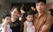 Cặp song sinh gái chào đời từ tinh trùng bất động 100% của bố
