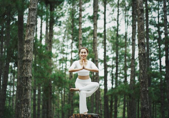 Én Vàng Phụng Yến chia sẻ 4 cách để đừng bỏ cuộc với yoga - 1