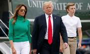 Chiều cao vượt trội bạn đồng lứa của cậu út nhà Trump
