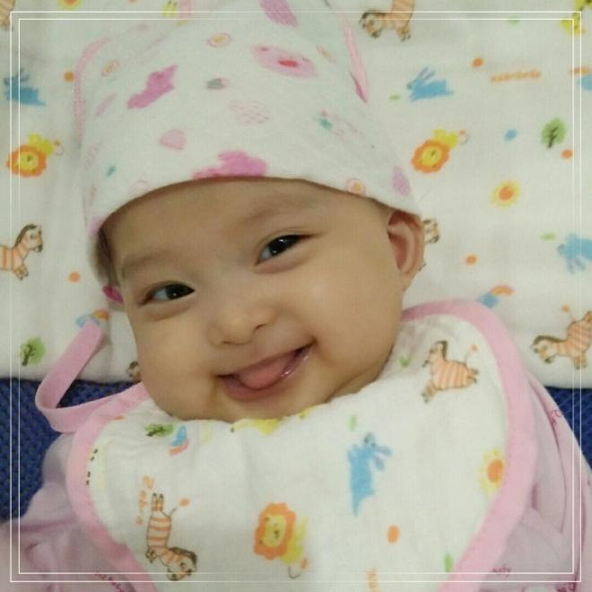 Bé Nguyễn Gia Linh, con gái chị Nguyễn Thị Ngọc Bích