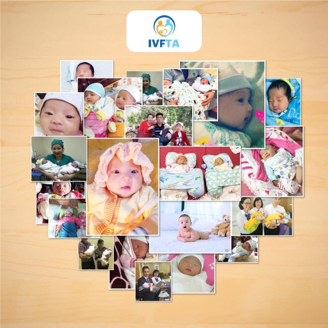 Các em bé kháu khỉnh được sinh ra từ phương pháp IVF tại Bệnh viện Đa Khoa Tâm Anh. Ảnh: Huỳnh Thành Đạt