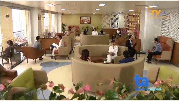 Phòng chờ tại Trung tâm IVFTA rộng rãi, sang trọng, khách hàng được dùng trà, cafe, wifi, đọc báo& miễn phí