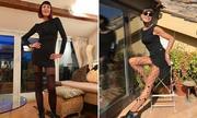 Vóc dáng của cụ bà 70 tuổi khiến thanh niên ghen tỵ