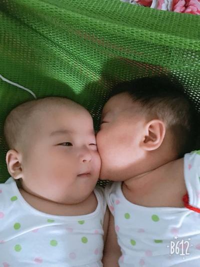 Sau 4 năm hiếm muộn do buồng trứng đa nang, chị Trang đã có thai đôingay từ lầnchuyển phôi đầu tiên.