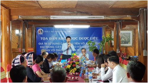 Hội thảo: ý nghĩa của cây ngải tiên với hội chứng viêm đại tràng tại Tả Phìn Hồ - Hà Giang