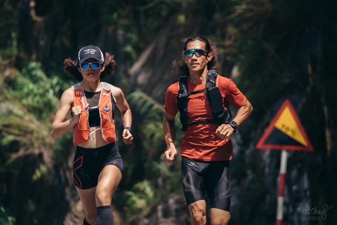 Các vận động viên trong một giải chạy Marathon. Ảnh: V.Y