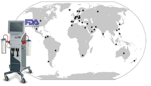 Công nghệ Lipomatic đang ứng dụng tại hơn 60 quốc gia, thế hệ mới EVA SP7 (2018) được tổ chức FDA (Mỹ) chứng nhận hiệu quả.