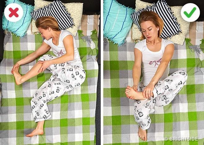 Tư thế ngủ giúp bạn sảng khoái khi thức giấc