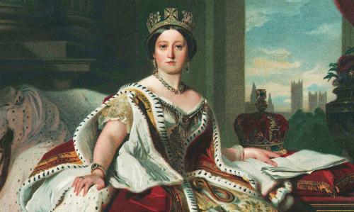 Nữ hoàng Victoria thời trẻ. Ảnh: Pinterest.