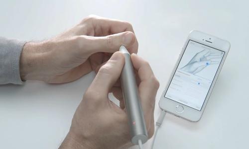 Chiếc bút thông minh đo lượng khoáng chất và vitamin trong cơ thể
