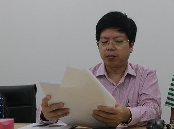 Phó cục trưởng Cục Quản lý khám chữa bệnh (Bộ Y tế) Nguyễn Trọng Khoa.