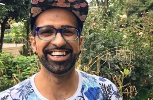 Shamal Waraich sống tích cực hơn sau khoảng thời gian khủng hoảng trầm trọng khi biết tin mình bị nhiễm HIV.