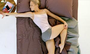 10 phút tập tại giường ngủ giúp cơ thể sảng khoái