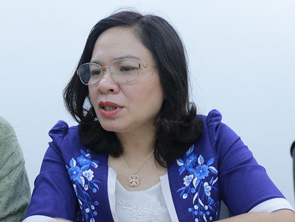 Phó giáo sư Dương Thị Hồng.