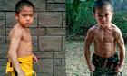 Cậu bé Nhật 8 tuổi cơ bắp như Lý Tiểu Long
