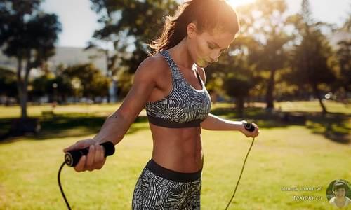 7 phút nhảy dây giúp giảm mỡ thừa