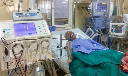 Bệnh viện K dùng kỹ thuật thay huyết tương cứu người ung thư