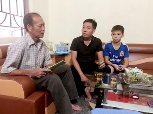 Anh Vũ Văn Nghĩa giảm các triệu chứng của hen phế quản sau hơn một năm điều trị.