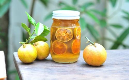 Chanh đào ngâm mật ong là thức uống dinh dưỡng tốt cho sức khỏe