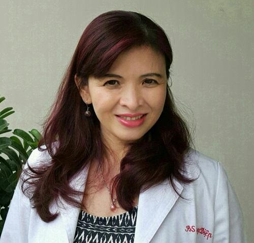 Bác sĩ Đỗ Thị Ngọc Diệp - Phó Chủ tịch Hội Dinh dưỡng Việt Nam.