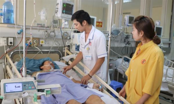 Bệnh nhân hiện qua cơn nguy kịch. Ảnh: Bệnh viện cung cấp.