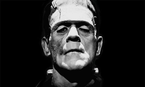 Tạo hình con quái vật của Frankenstein trên phim. Ảnh: Country Life.