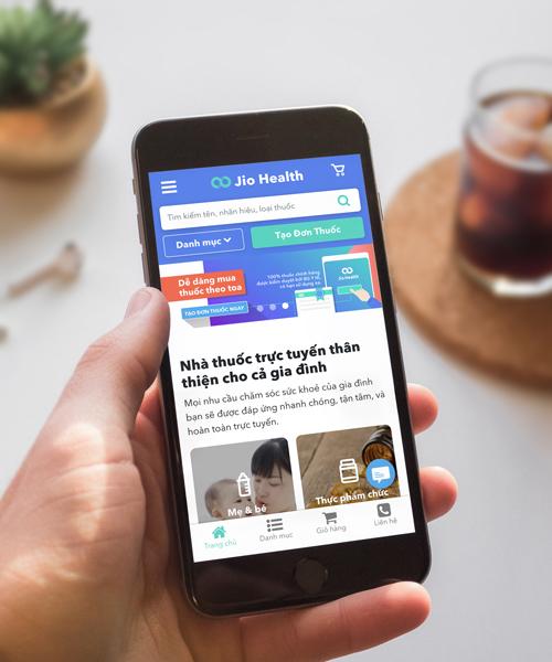 Năm 2016, công ty TNHH Jio Health chính thức ra mắt ứng dụng Jio Health tại thị trường TP HCM.