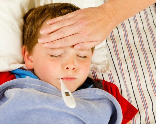 Trẻ mắc bệnh sốt xuất huyết thường có biểu sốt cao đột ngột 39-40 độ, kéo dài trong nhiều ngày.