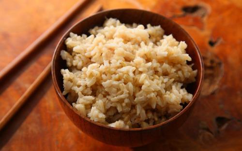 Cơm gạo lứt trắng (Nguồn: Internet)