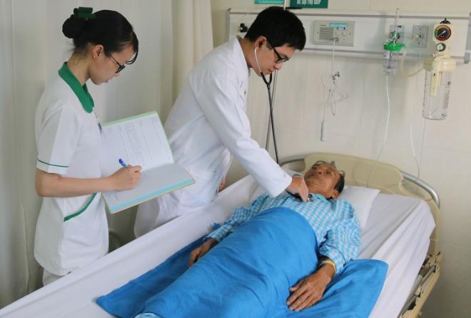 Bệnh nhân hồi phục nhanh sau mổ. Ảnh: B.T